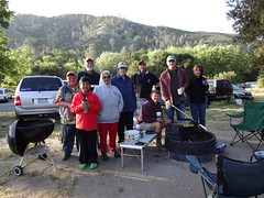 carol group shot (maureenld) Tags: camping friends fun 40th george donna bash bruce may ken lisa db carol annual melinda lynne pinnacles 2012 pinnaclesnationalmonument bethereorbesquare georgeb desertbash btobs