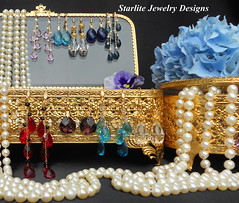 Vintage Chic ~ Bridal Pearls and Bridesmaids Jewelry Designs (Naomi King) Tags: fashion vintage handmade bridesmaids romantic handcrafted accessories earrings trend elegant bridal luxury madeinusa affordable vintagejewelry vintageearrings pearlearrings crystalearrings bridalearrings starlitejewelrydesigns bridesmaidsearrings bridalpearls bridaljewelrydesigns bridesmaidsjewelrysets elegantbridaljewelry vintagejewelrydesigns customordersbydesign bridalcrystalearrings
