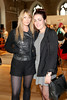 Emma Barron & Aisling Baker pictured at the ebay.ie fashion show at Smock Alley Theatre, part of the ebay.ie online fashion week. Photo: Anthony Woods.