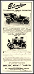 1903 Columbia Gasoline AND The Electric Mark XXXI Surrey - Electric Vehicle Co., Hartford, Conn (carlylehold) Tags: opportunity robert mobile email smartphone join tmobile keeper signup haefner carlylehold solavei haefnerwirelessgmailcom
