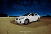 C O R O L L A (||~ فـراس الفريجـي) Tags: cars canon eos al sigma 1020 سيارة سيارات السعودية أبيض feras ليل صغيرة فراس كوكو كورولا كورلا 1000d alfuraiji الفريجي furaiji
