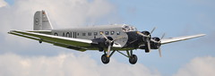 """Junkers Ju 52 D-AQUI """"Queen of the Skies"""" Luffhansia - Flying Legends Airshow Duxford 2012 (Rob Lovesey) Tags: museum flying war airshow legends duxford imperial ju 52 2012 daqui junkers queenoftheskies luffhansia"""