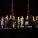Mark Andrews and the cast of Brave onstage for the introduction of Brave at the Festival Theatre