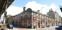 Earl Street and Birley Street (George D Thompson) Tags: street uk england panorama lancashire preston impressionsexpressions scenicsnotjustlandscapes stitchingsoftwarebirley streetearl
