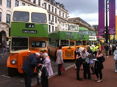 Old buses (md93) Tags: old museum glasgow jubilee georgesquare diamond preserved