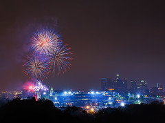 4th of July Fireworks (RuggyBearLA) Tags: los downtown baseball angeles fireworks stadium 4th july celebration independence fourth dtla dodgers