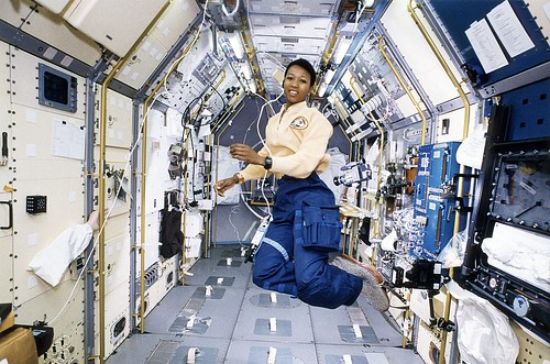 Astronaut Mae Jemison Working in Spacela by NASA on The Commons, on Flickr