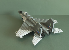 MiG-35 SMT (5) (Aleksander Stein) Tags: west model fighter lego russia near military future upgrade smt fulcrum multirole fictitious mig35