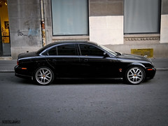 Arden. (Stefan Sobot) Tags: black car race silver nikon serbia profile fast s limo exotic r type jaguar belgrade tuner rims tuning luxury rare beograd supercar arden srbija tuned