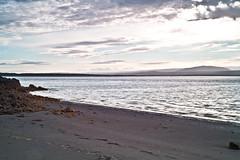Silence (...) (Bjrn Lve) Tags: blue sea sky green beach water beautiful birds landscape 50mm iceland nice sand waves bright 5d sland eyrarbakki orlkshfn