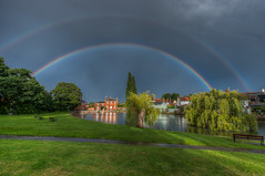 211/366 A Double Rainbow over Doctors Pond (Mark Seton) Tags: oneaday photo rainbow nikon places photoaday doublerainbow essex pictureaday d800 greatdunmow dunmow uttlesford project365211 nikond800 doctorspond project365290712