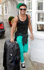 Marcus Collins Celebrities leaving their hotel after attending the wedding of Rochelle Wiseman and Marvin Humes which took place on Friday (July 27) at Blenheim Palace England
