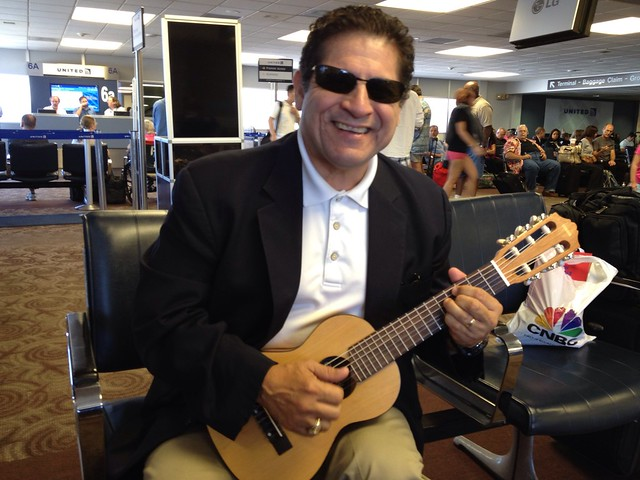 Johnny O Tries on my Guitalele