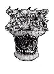 CALAVERASEM (Asem-Uno.) Tags: asem graffiti sketch skull craneo calavera dark hell gore illustration