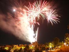 Fireworks , Diables (2) (calafellvalo) Tags: noche fireworks calafell fuegosartificiales nit plvora traca diables masclet calafellvalo castelldefoc diablesdecalafell guaitels festamajordecalafell diablesfireworksfuegosartificialescalafellcalafellvalo