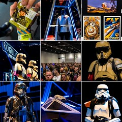 Star Wars Celebration (Ballou34) Tags: 2016 650d ballou34 canon eos eos650d flickr photography rebelt4i t4i star wars starwars stormtrooper stormtroopers london londres starwarscelebration celebration darth vader r2d2 c3po bobba fett swce rogue one