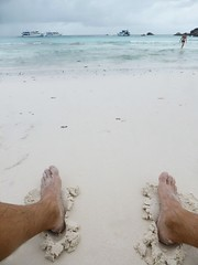 Similan Island, Thailand (Jan-2016) 20-025 (MistyTree Adventures) Tags: seasia thailand outdoor mukosimilannp panasoniclumix similanisland feet beach whitesand ocean