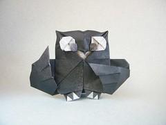 Bho - Fernando Gilgado (Rui.Roda) Tags: origami papiroflexia papierfalten mocho coruja eule owl hibou bho fernando gilgado