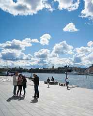 Blasieholmen (gerikson) Tags: 28105mmf3545d blasieholmen stockholm clouds quay sun water