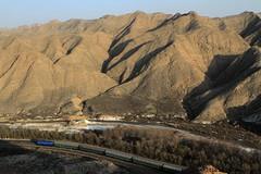 I_B_IMG_8107 (florian_grupp) Tags: asia china steam train railway railroad bayin lanzhou gansu desert landscape loess mountains sy ore mine 282 mikado steamlocomotive locomotive