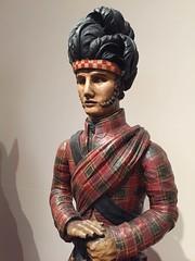 1-2 Nadelman Folk Art at NYHS (MsSusanB) Tags: nadelman nyhs highlander tobacco folkart sculpture elie viola wood modernart