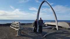 Whale Bone Arch -- the jawbones of a Bowhead whale