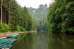 Amselsee in Saxon Switzerland National Park (timohannukkala) Tags: amselsee lake national park saxon saxonswitzerland schweiz schsische rathen sachsen germany de