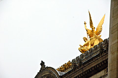 Angel of Music (EmperorNorton47) Tags: operagarnier paris iledefrance france photo digital autumn fall theater operahouse angel statue sculpture gold golden