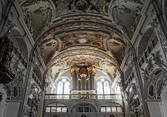 holy organ (werner boehm *) Tags: wernerboehm kloster benediktbeuern bavaria interior organ orgel architektur