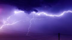 Summer Nights (Gary Hoyles UK) Tags: storm lightening wow