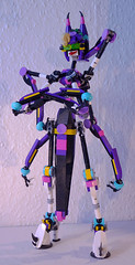 Monique (lingonkart) Tags: lego moc insect robot robotgirl insectgirl bug spider arachnoid insectoid