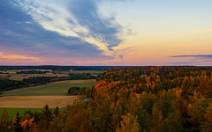 September view (Joni Mansikka) Tags: autumn nature outdoor woodland trees leaves sky clouds colours fields landscape paimio suomi finland tamronspaf2875mmf28xrdildasphericalif