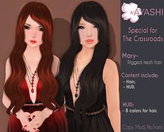 [^.^Ayashi^.^] Mary hair special for The Crossroads (Ikira Frimon) Tags: rigged hud anime m3 utilizator nice head mesh ayashi doll outfit hair blogger costume frimon ikira follow post blog fashion sl life second event girl beautifully special exclusive tsg kawaii kawai cute hairs sensuality lovely sexually cosplay wavy long quiff forelock bang obliquefringe unevenbangs mary thecrossroads averagelength medium curl heartbreaker kisscurl disheveled dishevelled
