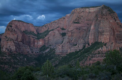 An Evening at Kolob (Life_After_Death - Shannon Day) Tags: zion national park desert stone sandstone cliffs rock rocks red gold patterns pattern southwest western mesa checkerboard mormon face yellow stripes arch landscape blue sky striated erosion stripe zionnationalpark nationalpark unitedstatesnationalpark usnationalpark unitedstates kolobcanyon kolob stgeorge george st canon canoneos canoneos50d 50d eos dslr canondslr eosdslr canoneos50ddslr photography lifeafterdeath lifeafterdeathstudios lifeafterdeathphotography shannonday shannondayphotography shannondaylifeafterdeath lifeafterdeathstudiosartandphotography shannondayartandphotography