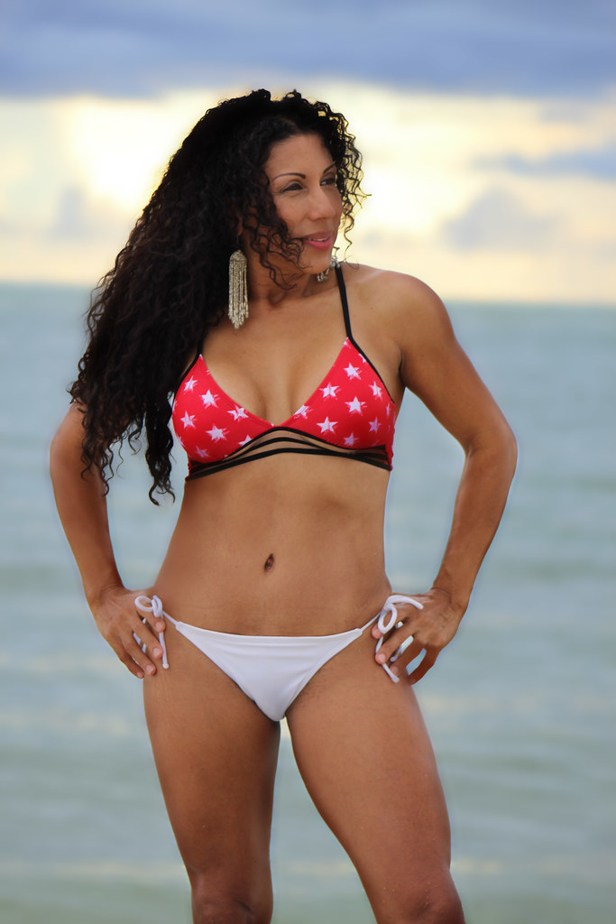 Mature latina bikini