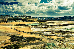 SAINT MALO AUTREMENT IMG_4060 (photo.bymau) Tags: bymau canon 7d seaside saint malo brittany french france plage beach cost cote mer color couleur colorfull