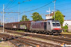 186 281 (atropo8) Tags: 186281 rtc railtractioncompany treno train zug merci freight cargo verona veneto italy nikon d810