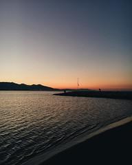 Shades of color. #vscocam #water #sea #place #emotional #emotive #sunrise (presso Scogliera Di Fiumaretta) (Gianluca Ferrazza Photography) Tags: emotive water place sea emotional vscocam sunrise