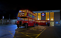 'Sudbury Town' (andrew_@oxford) Tags: sudbury town london underground station vintage buses timeline events nighttime