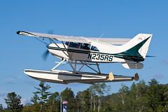 Private Maule M-7-235B N235RS (jbp274) Tags: 52b greenvilleseaplaneflyin greenville mooseheadlake flyin seaplane airplanes floatplane maule m7