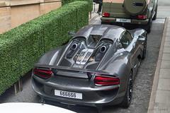 From Above (Beyond Speed) Tags: porsche 918 spyder supercar supercars automotive automobili nikon v8 hybrid london grey