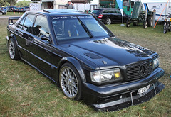 190E EVO I (Schwanzus_Longus) Tags: tostedt german germany old classic vintage car vehicle black sedan saloon tuner tuned mercedes benz 190e amg evo 1 i