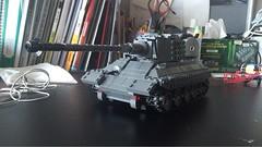 Lego Koenigstiger (leekangwook) Tags: germany kingtiger legomilitary lego