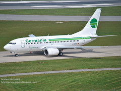D-AGER Boeing 737-75B (Jersey Airport Photography) Tags: jer jersey boeing airliner germania deger egjj 73775b