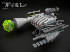 Lockjaw Servo's VOAT Vagrant (Shannon Ocean) Tags: lego scifi spaceship salvage scrapheap
