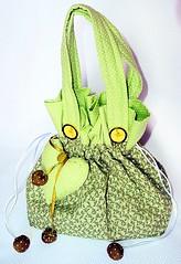 Bolsa Michele (deize costa) Tags: bag galinha fuxico patchwork bolsa tecido aplique deizecosta