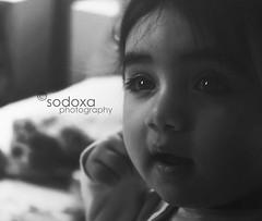 .03/13 (.sodoxa) Tags: bw baby blur monochrome mono eyes nikon focus d70 zaina