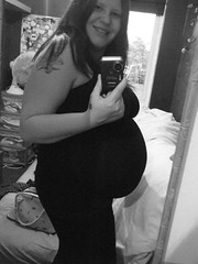 38 weeks Baby Bump (Staffies are NOT Dangerous Spread the Word !) Tags: baby mother pregnancy pregnant mum months weeks due bump