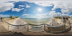 Outlook #5 (edwardhorsford) Tags: world trip sea panorama white water stairs sisters downs restaurant seaside little south parking panoramic lookout cliffs line seven eastbourne planet sevensisters weight stitched displayed paid 360º plumb hugin equirectangular philopod