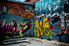 Graffitti Amore (squint photo) Tags: streetart art love print photography fine graffitti amore fineartphotography fineartprint nikond80 graffitiphoto sonjaquintero squintphotography